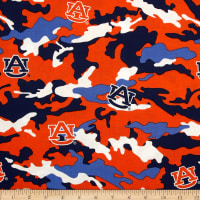 NCAA Auburn Tigers Cotton Camouflage