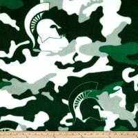 NCAA Michigan State Spartans Fleece Camo