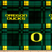 NCAA Oregon Ducks Fleece Plaid