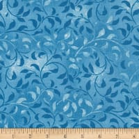"Climbing Vine 108"" Wide Back Light Blue"