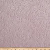 Shannon Minky Paisley Cuddle Embossed Baby Pink