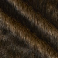 Shannon Lux Fur Wolf  Brown/Black