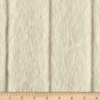 Shannon Luxe Faux Fur Fancy Mink Beige Fabric