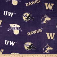 Collegiate Fleece University of Washington Purple