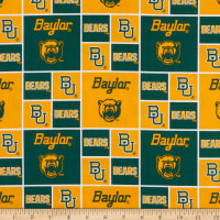 NCAA Baylor Bears Broadcloth