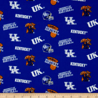 Collegiate Cotton Broadcloth University of Kentucky