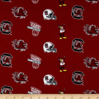 Collegiate Cotton Broadcloth South Carolina