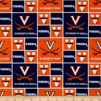 Collegiate Cotton Broadcloth University of Virginia