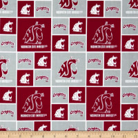 Collegiate Cotton Broadcloth Washington State
