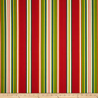 Richloom Solarium Outdoor Kasmira Stripe Red/Multi