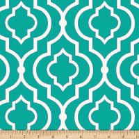 Swavelle Indoor/Outdoor Starlet Teal