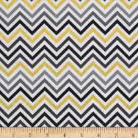 Remix Metallic Small Chevron Smoke