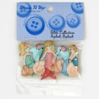 Dress It Up Embellishment Buttons  Splish Splash