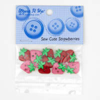Dress It Up Embellishment Buttons  Sew Cute Strawberries