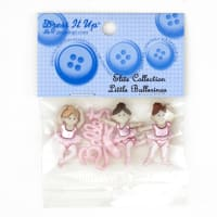 Dress It Up Embellishment Buttons  Little Ballerinas