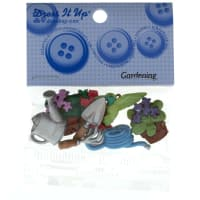 Dress It Up Embellishment Buttons  Gardening