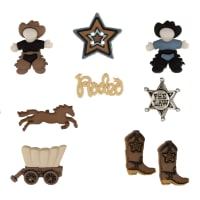 Dress It Up Embellishment Buttons  Howdy Partner