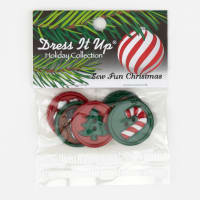 Dress It Up Embellishment Buttons  Sew Fun Christmas
