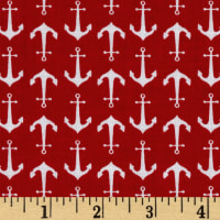 Riley Blake Anchors Red