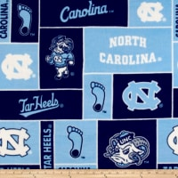 Collegiate Fleece University of North Carolina Blue