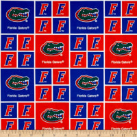 NCAA Florida Gators Broadcloth Orange