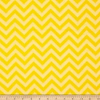 Flannel Chevron Yellow