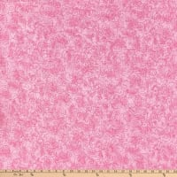 "110"" Wide Flannel Quilt Back Willow Pink"