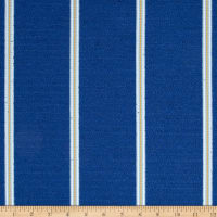 Nautica Indoor/Outdoor Long Beach Stripe Atlantic Blue