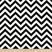 Premier Prints Indoor/Outdoor Zig Zag Black