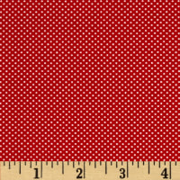 Moda Dottie Tiny Dots Red