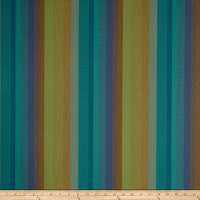 Sunbrella Outdoor Canvas Astoria Stripe Lagoon