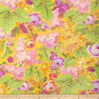 Kaffe Fassett Collective Sun Lilac Yellow