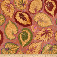 Kaffe Fassett Spring 2014 Collective Earth Big Leaf Ochre