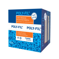 Fairfield Poly-Fil  Premium Polyester Fiber 10lb Box White