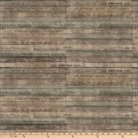 Tim Holtz Foundations Rulers Brown