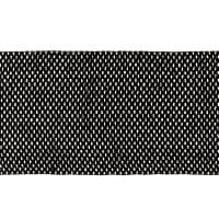 "9"" Crochet Headband Trim Black"