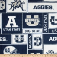 Collegiate Fleece Utah State University Allover