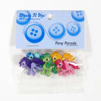 Dress It Up Embellishment Buttons Pony Parade