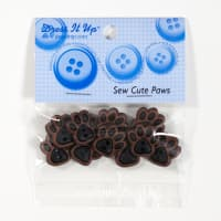 Dress It Up Embellishment Buttons Paws