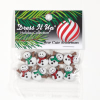 Dress It Up Embellishment Sew Cute Snowmen