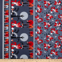 Kanvas Feeling Foxy Double Border Grey
