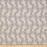 Contempo Feathers Grey/White