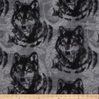 Winterfleece Wolf Grey/Black