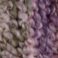 Lion Brand Homespun Thick And Quick Stripes Yarn Lavender Stripes