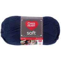 Red Heart Soft Yarn (4604) Navy