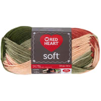 Red Heart Soft Yarn (9937) Garden