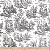 Waverly Rustic Life Toile Black