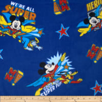 Mickey Comic Patch Fleece