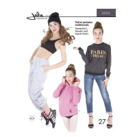 Jalie Sweatshirt, Hoodie, and Sweat Pants Pattern