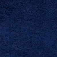 Whisper Coral Fleece Solid Navy